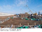 Фундамент. Стоковое фото, фотограф Верстуков Виктор / Фотобанк Лори
