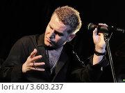 Леонид Агутин на концерте (2012 год). Редакционное фото, фотограф Максим Судоргин / Фотобанк Лори