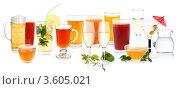 Купить «Коллекция напитков», фото № 3605021, снято 22 февраля 2011 г. (c) Наталия Евмененко / Фотобанк Лори