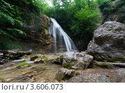 Водопад Джур-джур. Стоковое фото, фотограф Ольга Чудина / Фотобанк Лори