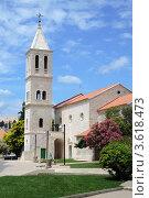 Купить «Готический храм в городе Шибеник. Хорватия.», фото № 3618473, снято 11 июня 2012 г. (c) Федор Королевский / Фотобанк Лори