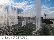 Купить «Музыкальный фонтан в парке Царицыно», эксклюзивное фото № 3621385, снято 23 июня 2012 г. (c) Родион Власов / Фотобанк Лори