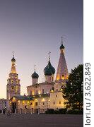 Купить «Ярославль. Церковь Ильи Пророка», фото № 3622849, снято 21 июня 2012 г. (c) Алексей Лобанов / Фотобанк Лори