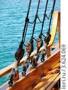 Прогулка на яхте по морю. Стоковое фото, фотограф Федор Королевский / Фотобанк Лори