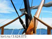 Купить «Прогулка на яхте по морю», фото № 3624073, снято 14 июня 2012 г. (c) Федор Королевский / Фотобанк Лори
