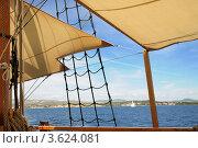 Купить «Прогулка на яхте по морю», фото № 3624081, снято 14 июня 2012 г. (c) Федор Королевский / Фотобанк Лори