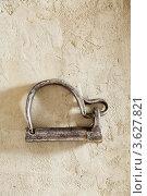 Замок дверной навесной. Стоковое фото, фотограф Борис Антонов / Фотобанк Лори