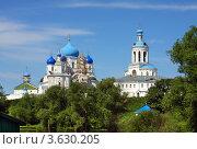 Купить «Боголюбово. Свято-Боголюбский женский монастырь», фото № 3630205, снято 7 июня 2011 г. (c) ElenArt / Фотобанк Лори