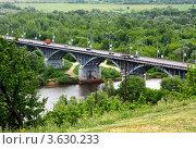 Купить «Владимир, мост через реку Клязьму», фото № 3630233, снято 7 июня 2011 г. (c) ElenArt / Фотобанк Лори