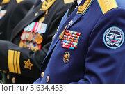 Купить «Военные награды ветеранов», фото № 3634453, снято 8 мая 2011 г. (c) Losevsky Pavel / Фотобанк Лори