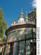 Купить «Церковная ограда», эксклюзивное фото № 3644093, снято 19 июня 2012 г. (c) Зобков Георгий / Фотобанк Лори