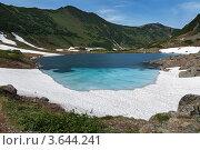 Голубые озера на Камчатке, фото № 3644241, снято 23 июня 2012 г. (c) А. А. Пирагис / Фотобанк Лори