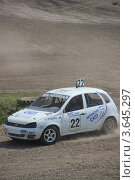 Машина на авто-кроссе (2012 год). Редакционное фото, фотограф Фролова Евгения / Фотобанк Лори