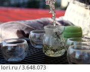 Чайная церемония. Стоковое фото, фотограф Анна Волик / Фотобанк Лори