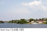Купить «Кимры. Вид города», фото № 3648185, снято 17 августа 2011 г. (c) Алексей Шипов / Фотобанк Лори
