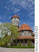 Водонапорная башня. Светлогорск Раушен (1908) (2012 год). Стоковое фото, фотограф Виктор Зандер / Фотобанк Лори
