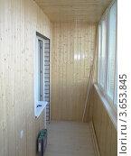 Отделка балкона. Стоковое фото, фотограф Дмитрий Сарычев / Фотобанк Лори