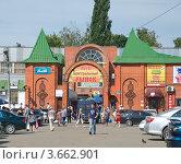 Купить «Ливны. Рынок», фото № 3662901, снято 23 июня 2012 г. (c) Юрий Жеребцов / Фотобанк Лори