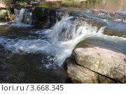 Перекаты на реке Янгиз, Оренбургская обл. Стоковое фото, фотограф Алексей Сахаров / Фотобанк Лори