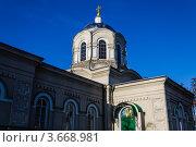 Церковь. Стоковое фото, фотограф Андрей Корж / Фотобанк Лори