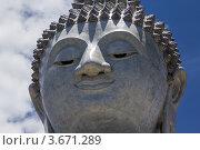 Купить «Большой Будда в Тайланде», фото № 3671289, снято 12 апреля 2012 г. (c) Роман Иванов / Фотобанк Лори