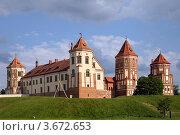 Купить «Мирский замок, Беларусь», фото № 3672653, снято 10 июня 2012 г. (c) Юлия Кузнецова / Фотобанк Лори