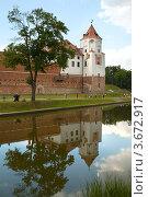 Купить «Мирский замок, Гродненская область, Беларусь», фото № 3672917, снято 10 июня 2012 г. (c) Юлия Кузнецова / Фотобанк Лори