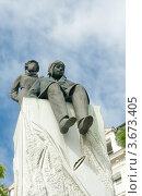Купить «Памятник Антуану де Сент-Экзюпери в Лионе», фото № 3673405, снято 13 июля 2012 г. (c) Виктория Фрадкина / Фотобанк Лори