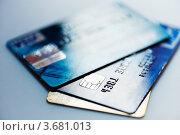 Купить «Кредитные карты», фото № 3681013, снято 11 июля 2012 г. (c) Валерия Потапова / Фотобанк Лори