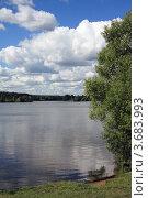 Купить «Москва-река в Павшино», эксклюзивное фото № 3683993, снято 30 июня 2012 г. (c) Игорь Веснинов / Фотобанк Лори