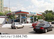 Купить «Здание автозаправочной станции Транс-АЗС в Москве», фото № 3684745, снято 22 мая 2012 г. (c) Андрей Ерофеев / Фотобанк Лори