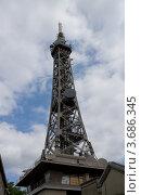 Купить «Металлическая башня Фурвьер (1894 г.), с 1953 г. – телевизионная башня. Лион, Франция.», фото № 3686345, снято 11 июля 2012 г. (c) Иван Марчук / Фотобанк Лори