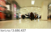 Купить «Покупатели в торговом центре, таймлапс», видеоролик № 3686437, снято 20 марта 2010 г. (c) Losevsky Pavel / Фотобанк Лори