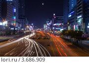 Купить «Южная Корея. Вечерний Пучхон (Bucheon)», фото № 3686909, снято 10 июля 2012 г. (c) Виктория Катьянова / Фотобанк Лори