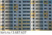 Стена многоквартирного дома. Стоковое фото, фотограф Алексей Судариков / Фотобанк Лори