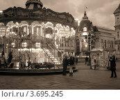 Купить «Карусель», фото № 3695245, снято 24 января 2019 г. (c) Николаева Наталья / Фотобанк Лори