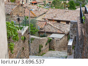 Купить «Вид на крыши домов маленького итальянского городка», фото № 3696537, снято 3 мая 2012 г. (c) Анастасия Золотницкая / Фотобанк Лори
