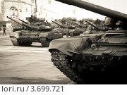 Купить «Репетиция Парада Победы», фото № 3699721, снято 6 мая 2012 г. (c) Андрей Пожарский / Фотобанк Лори