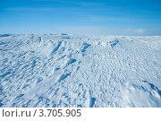 Купить «Снежные наносы в Хибинах», фото № 3705905, снято 31 марта 2012 г. (c) Morgenstjerne / Фотобанк Лори