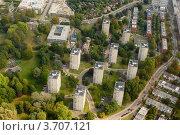 Панельные жилые дома в пригороде Лондона (Великобритания) (2009 год). Стоковое фото, фотограф Василий Фирсов / Фотобанк Лори