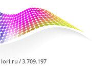 Красочный абстрактный элемент для дизайна. Стоковая иллюстрация, иллюстратор Marina Zlochin / Фотобанк Лори