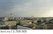 Купить «Москва, таймлапс», видеоролик № 3709905, снято 22 сентября 2010 г. (c) Losevsky Pavel / Фотобанк Лори