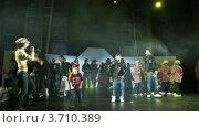 Купить «Конкурс Hip-Hop International - Кубок России ,Москва», видеоролик № 3710389, снято 10 октября 2010 г. (c) Losevsky Pavel / Фотобанк Лори