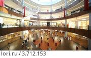 Купить «Dubai Mall с покупателями внутри в Дубае, ОАЭ», видеоролик № 3712153, снято 16 ноября 2010 г. (c) Losevsky Pavel / Фотобанк Лори