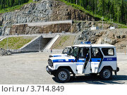 Автомобиль полиции (2012 год). Редакционное фото, фотограф Антон Афанасьев / Фотобанк Лори