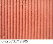 Каменная стена, покрашенная розово-желтой краской. Стоковое фото, фотограф Юлия Шевченко / Фотобанк Лори
