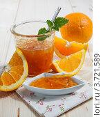 Купить «Апельсины и апельсиновый мармелад», фото № 3721589, снято 17 июля 2018 г. (c) Marina Appel / Фотобанк Лори