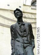Купить «Памятник А.П.Чехову в Камергерском переулке. Москва», эксклюзивное фото № 3723965, снято 21 апреля 2012 г. (c) Free Wind / Фотобанк Лори