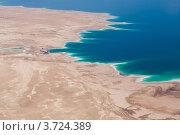 Берег Мертвого моря (Израиль) (2012 год). Стоковое фото, фотограф Василий Фирсов / Фотобанк Лори