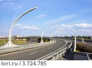 Развязки кольцевой автодороги (2012 год). Стоковое фото, фотограф Антон Куделин / Фотобанк Лори